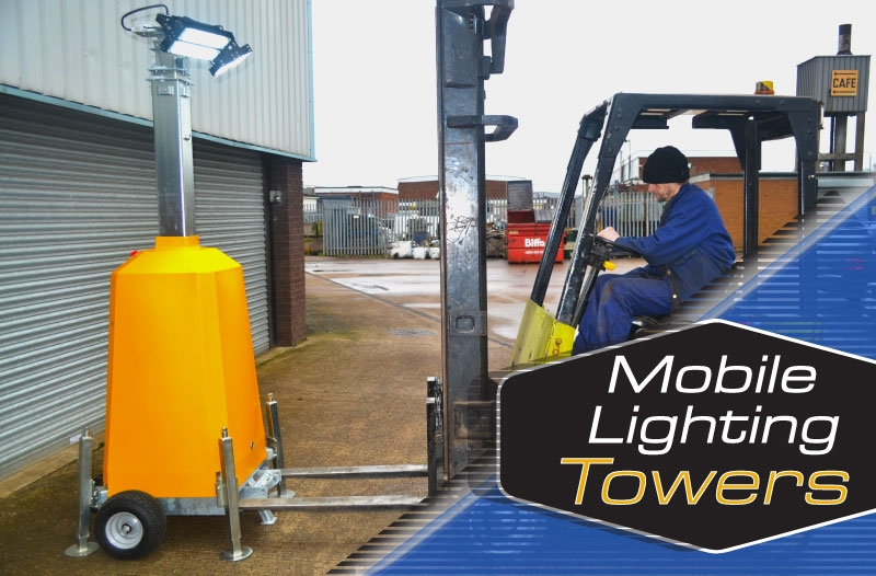 British Made Mobile Lighting Towers